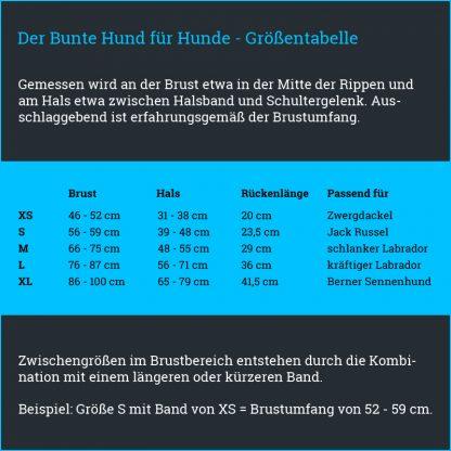 schöne Warnweste Bunter Hund Signalweste Turnbeutel reflex neon fair Bielefeld Hundeaccessoires